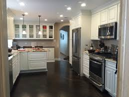 Kitchen Cabinet Lazy Susan Traditional Kitchen With Painted White Cabinets And Glass Case