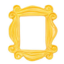 Home Decor Tv Shows by Amazon Com Handmade Yellow Peephole Frame As Seen On Monica U0027s