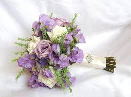 Silk Wedding Flowers Designer Artificial Wedding Flowers Lilac Delight Luxury