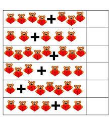 free printable math addition worksheets for kindergarten 4