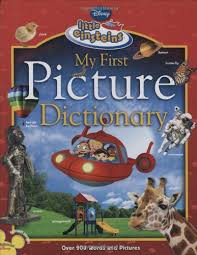 picture dictionary disney books