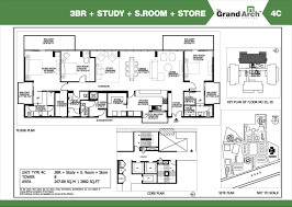 study room floor plan ireo grand arch floor plan floorplan in