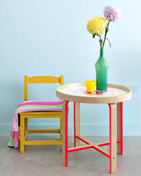 Color Furniture | 12 rad color block furniture tutorials dorm neon furniture and