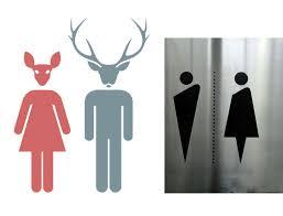 Bathroom Symbols 22 Pictogrammes Créatifs Pour Vos Toilettes Funny Toilet Signs