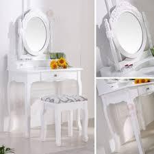 coiffeuse blanche si e avec miroir inclus coiffeuse blanche avec miroir maison design hosnya com