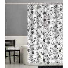 Maytex Mills Shower Curtain Maytex Circles Rings Shower Curtains Ebay