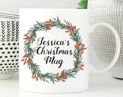 personalized christmas gifts christmas gifts for friends personalized christmas mug