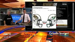 2014 thanksgiving football ucf vs usf football game moved to thanksgiving night orlando