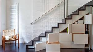 Staircase For Small Spaces Designs - under stair storage ideas for small living spaces apartment therapy