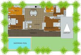 house plans with swimming pools 1500 sq ft house plans with swimming pool and budget plan
