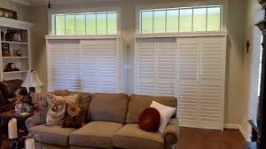 Bypass Shutters For Patio Doors Budget Blinds Kingwood Tx Custom Window Coverings Shutters