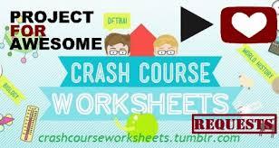 crash course worksheets