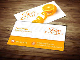 Buy Business Card Juice Plus Business Card Design 4