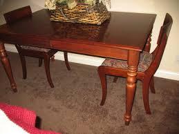 craigslist dining room set dining table ethan allen dining table craigslist vintage