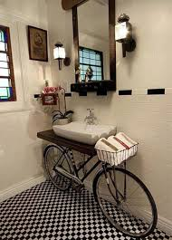 Rustic Bathroom Decorating Ideas Bathroom Unique Bathroom Inspiration Feats Checkerboard Floor