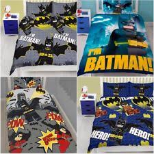 Superhero Double Duvet Set Lego Batman Bedding Ebay