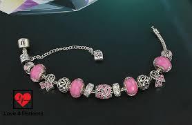 charm bracelet european images Pink ribbon breast cancer awareness european bead charm bracelet jpg