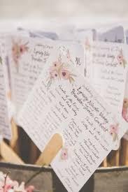wedding program paper kits diy heart fan program paper kit wedding ceremony programs