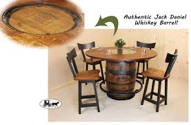 Whiskey Barrel Chairs Whiskey Barrel Set The Wood Carte Real Wood Furniture Amish