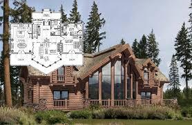 open floor plan log homes milled log homes precisioncraft log homes