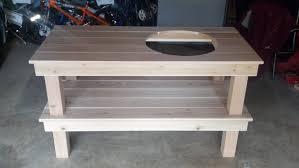 xl big green egg table plans pdf big green egg table plans free table designs