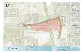 Winnipeg Map Waverley Underpass Study Construction Public Works City Of