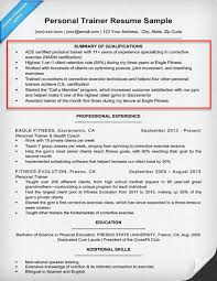 Physical Education Resume Examples by Amazing Summary Of Qualifications Resume Example 1 The Best
