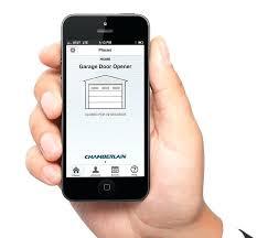 android garage door opener garage door app android s chamberlain garage door android app
