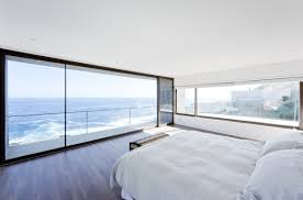 Minimalist Room by Gorgeous Minimalist Home Overlooking The Ocean In Chile