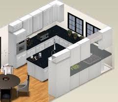 Modern Kitchen With Island Small U Shaped Kitchen With Island U2014 Smith Design Modern