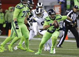 itâ u20ac s not easy being neon green seahawks rams report