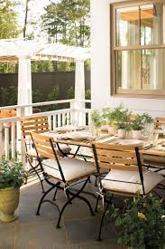 Outdoor Dining Rooms by Bright Outdoor Dining Ideas Southern Living