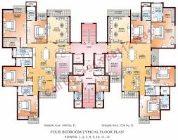 Create Your Own Floor Plans by Luxury 4 Bedroom Apartment Floor Plans Maduhitambima Com