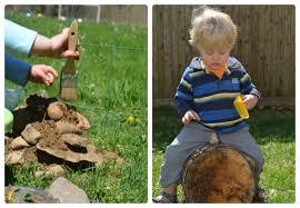 backyard play area simple play ideas