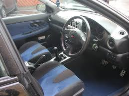 subaru rsti interior 2003 subaru wrx wagon with sti interior fs gt r register