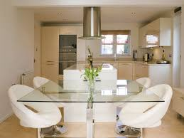 modern kitchen hood kitchen centrepiece feat modern white kitchen chairs plus round