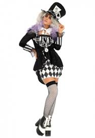 Mad Hatter Halloween Costume Alice Wonderland Alice Wonderland Costumes Accessories