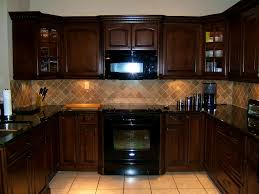 Kitchen Paint Colors With Dark Cabinets Bathroom Ravishing Kitchen Dark Cabinets Light Granite House