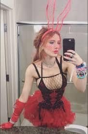 Weed Halloween Costumes Bella Thorne Debuts Halloween Costume Weed Doctor