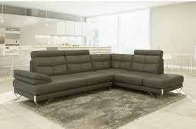 canapé d angle haut de gamme canapé d angle artiste en cuir haut de gamme italien vachette gris