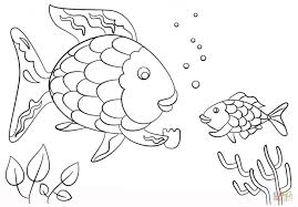 fish cut out template kids coloring see best photos of cutouts to
