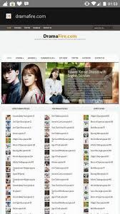 dramafire cannot open dramafire com korean drama and asian shows with english subtitles