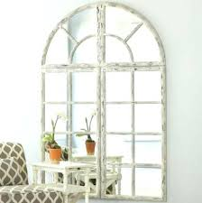 Ideas Design For Arched Window Mirror Arched Window Mirror Outstanding Window Mirror Decor Size Of