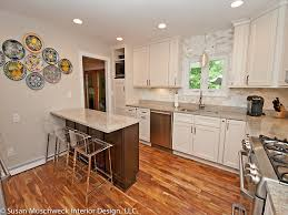 updated kitchen ideas great prime u shaped kitchens with breakfast bar 44 for your home in