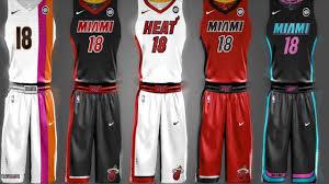 miami heat nba no longer to specify home and road jerseys