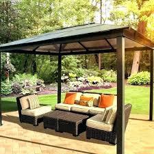Patio Gazebo Canopy Large Backyard Canopy Jacketsonline Club