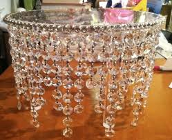 How To Make Crystal Chandelier 119 Best Wedding Cake Stand Images On Pinterest Wedding Cake