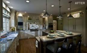 triangular kitchen island stunning transformations abode