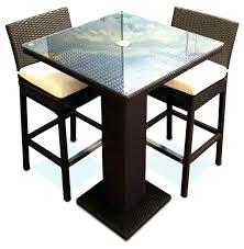 square pub table with storage square bistro table set wooden bistro table set for brilliant