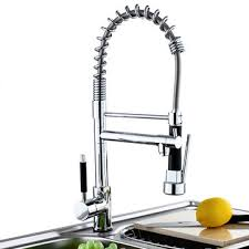 Chrome Kitchen Sink Kitchen Sink Mixer Faucet Pull Out Sparyer Tap Single Handle